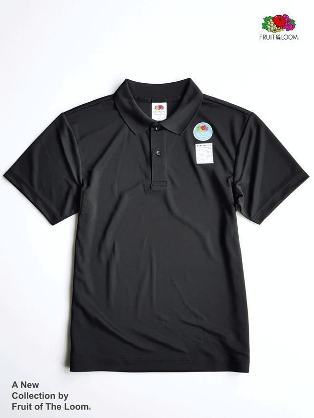 FRUIT OF THE LOOM 水果牌 - DYP9000 吸濕排汗 4.1OZ 短袖 POLO衫 (BK黑色)