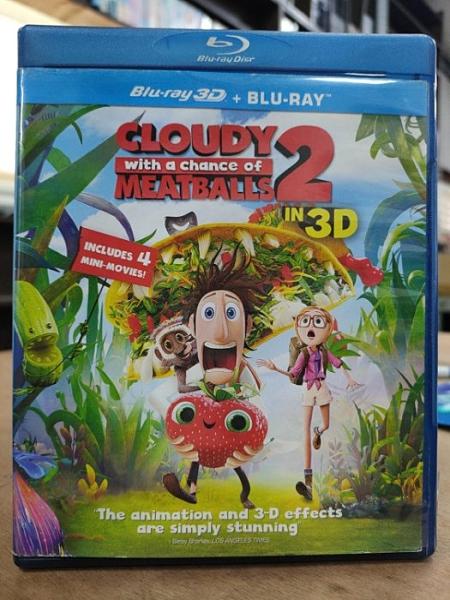 挖寶二手片-0125--正版藍光BD【食破天驚2 3D+2D雙碟限定版】卡通動畫(直購價)
