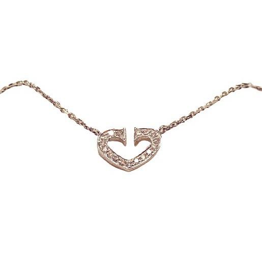 《台灣現貨24小時出貨》 Cartier 卡地亞款天然鑽石15分項鍊《現貨供應中歡迎門市自取》
