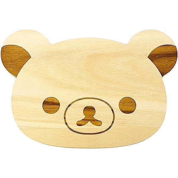 拉拉熊 Rilakkuma 懶懶熊 RLKM-1701多功能木製造型砧板 4712977467019