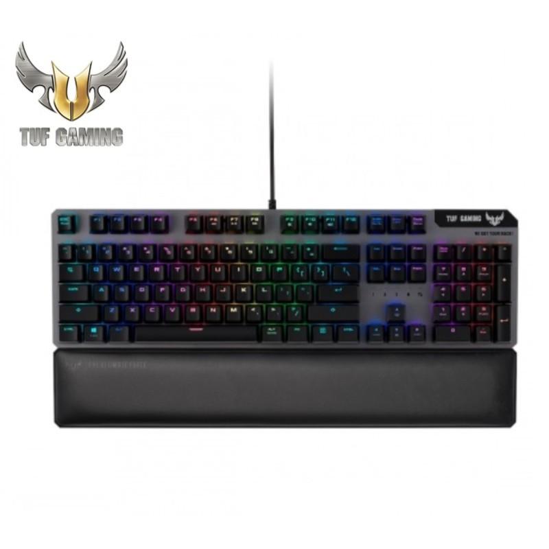ASUS 華碩 TUF Gaming K7 光學機械軸電競鍵盤 機械式 鍵盤 RGB 電競 光軸 中文 廠商直送
