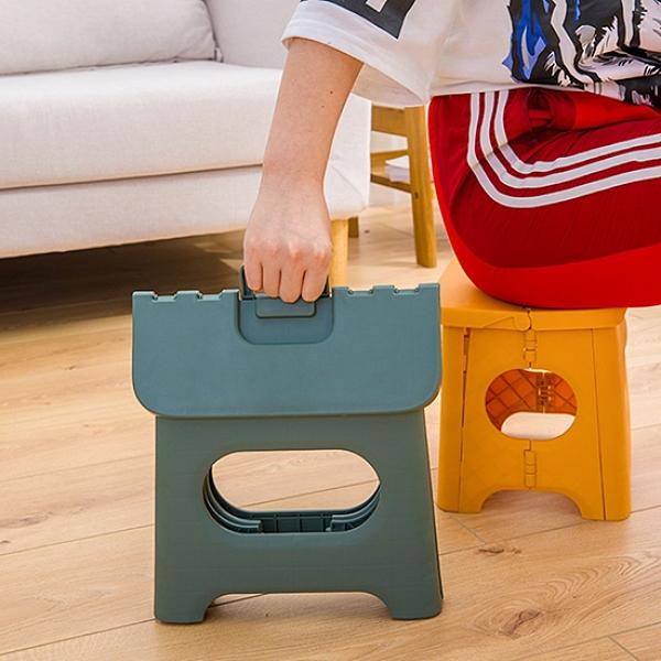 折疊凳 收納凳 小板凳 折疊椅 折疊凳 摺疊凳 小 塑料凳 日式手提折疊椅【B005-2】生活家精品
