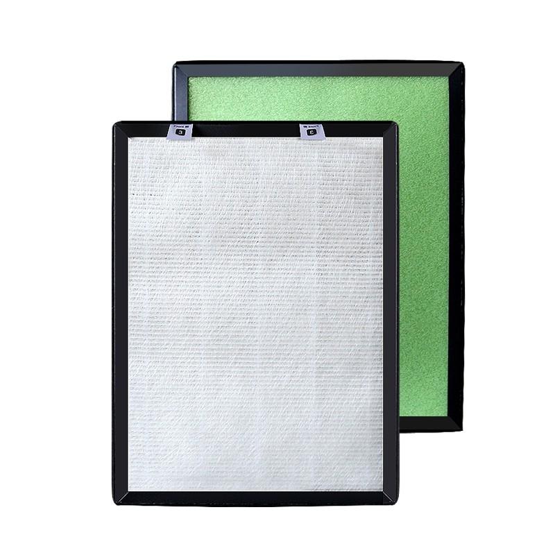 ►✚適配海爾母嬰空氣凈化器KJ225F-HY01/KP03過濾網HEPA除霧霾pm甲醛