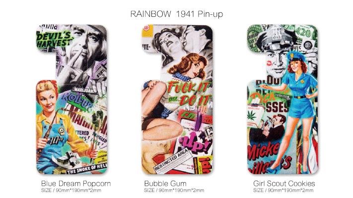 SHARE|Home design 1941彩虹Pin-up系列 夢幻花香 香氛 吊卡 / 香片
