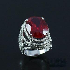 Celosa名品-豔麗奪目紅寶戒指