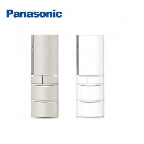 【PANASONIC國際牌】411公升鋼板系列日本原裝五門冰箱 NR-E414VT