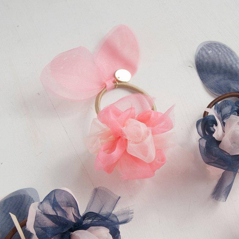 miffy×chiko  七彩盛開的頭髮有彈性 粉紅色