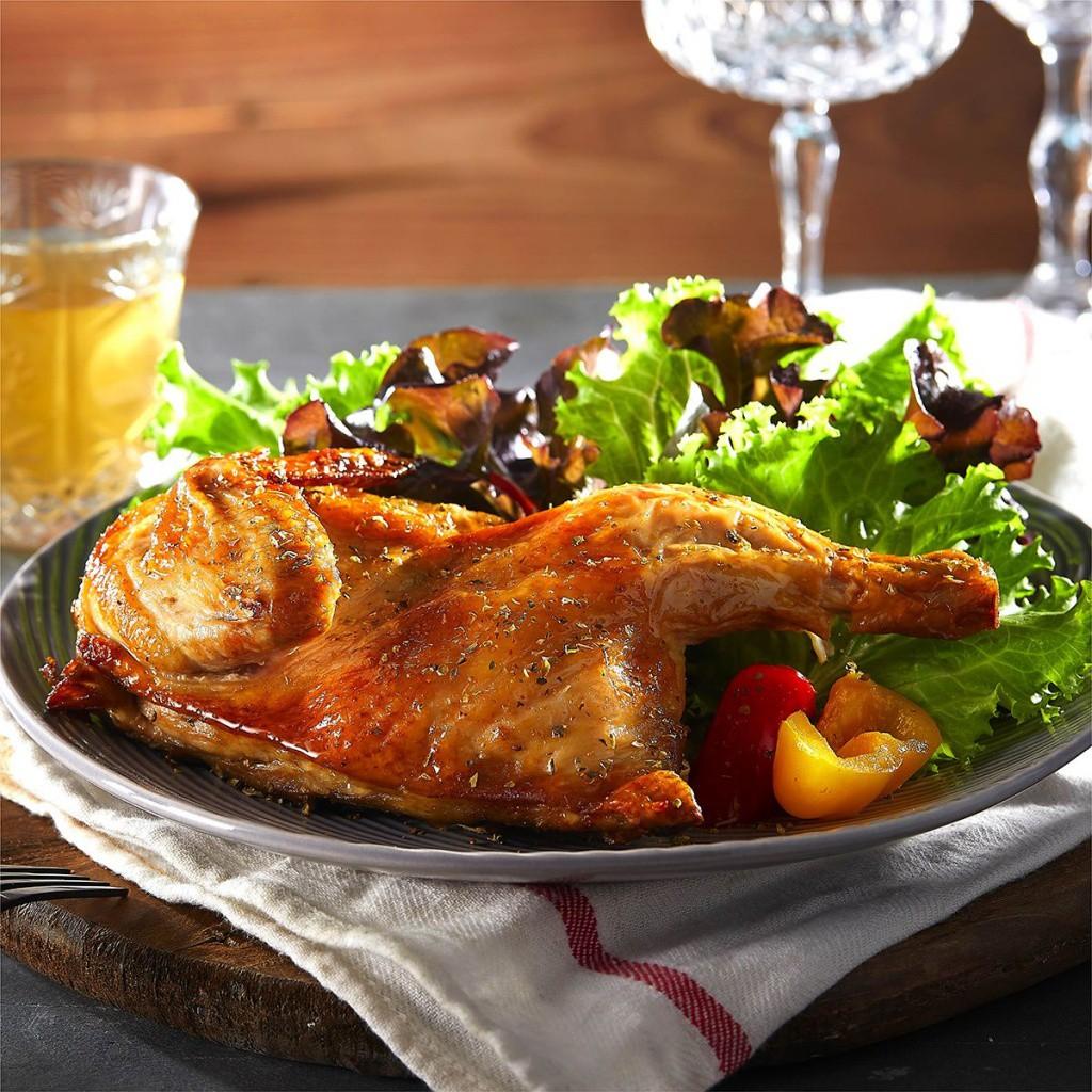 好富食堂-歐式香烤醃漬半雞450g/包