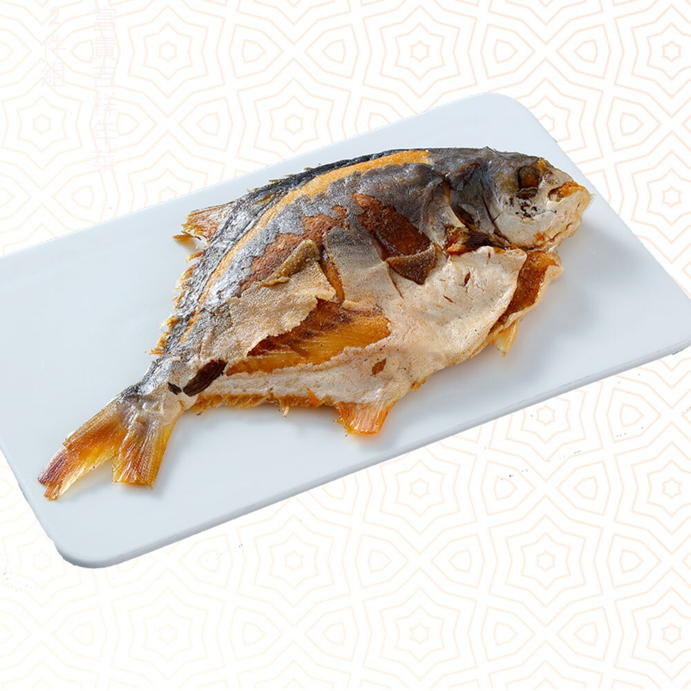 自由選【呷七碗】酥炸金鯧魚CL(固形物350g)
