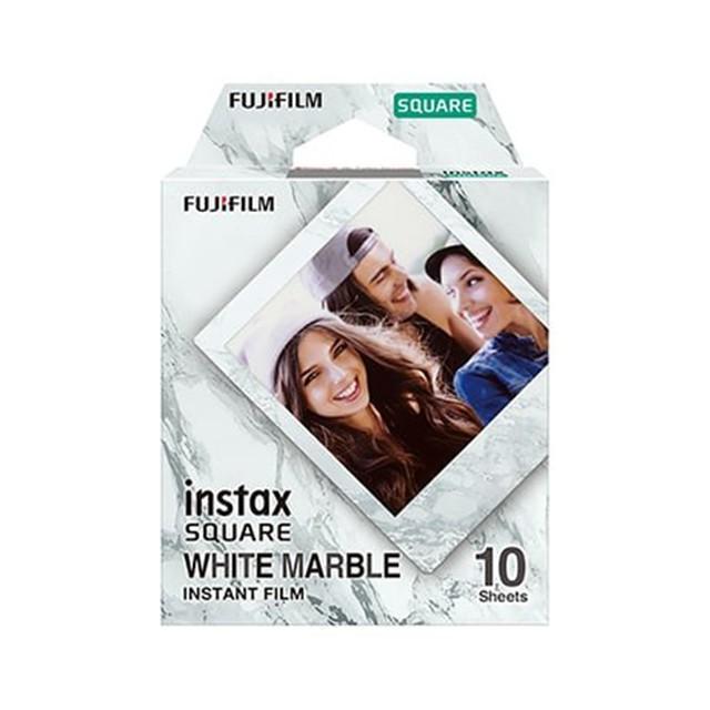 instax SQUARE白色大理石底片- Norns 日本富士拍立得White Marble SQUARE 6 10