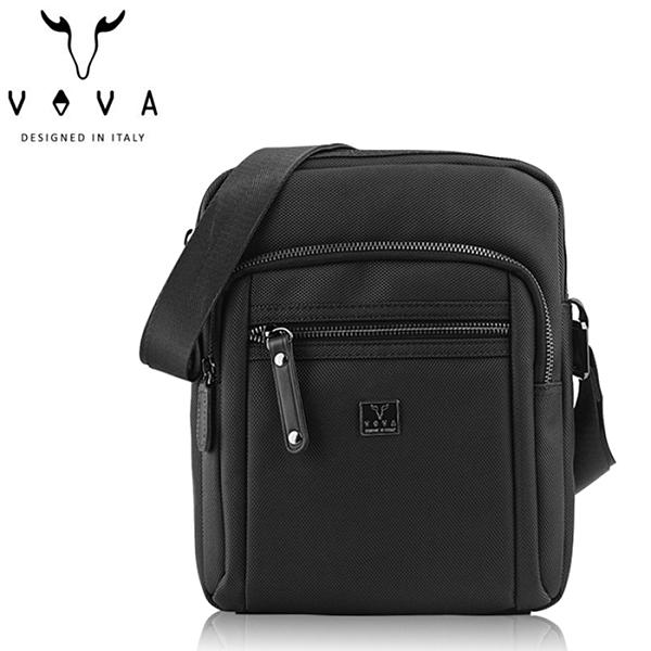 【橘子包包館】VOVA 天際系列直式斜背包 VA117S17BK 城市黑 斜背包/側背包
