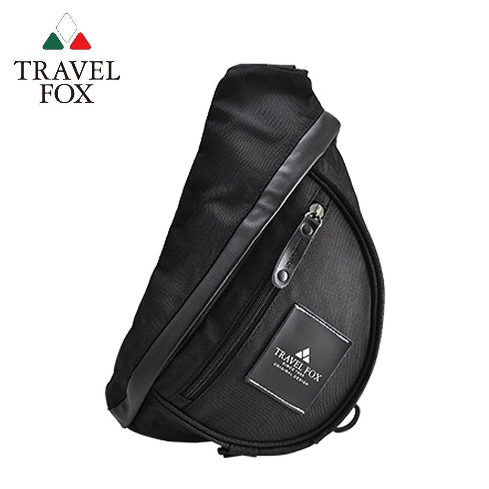 TRAVEL FOX 旅狐  旅行者單肩防潑水尼龍包 (TB568-01) 黑色