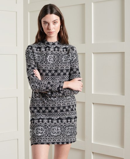 Superdry Embroidered Shift Dress
