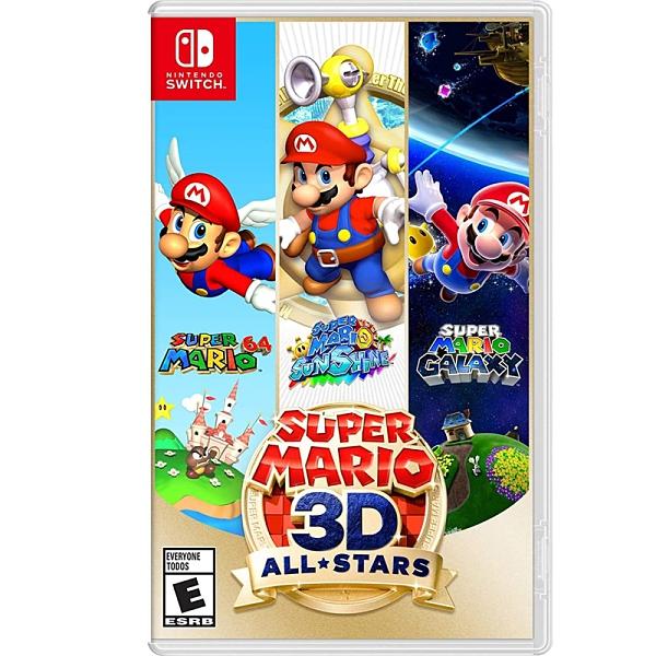 Switch NS 超級瑪利歐 3D 收藏輯 超級瑪利歐 64 瑪利歐陽光 瑪利歐銀河 歐美版
