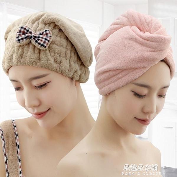 乾髮帽丨乾發帽女吸水洗頭毛巾加厚包頭巾可愛擦頭發乾發巾抖音速乾帽浴帽-N 【母親節特惠】