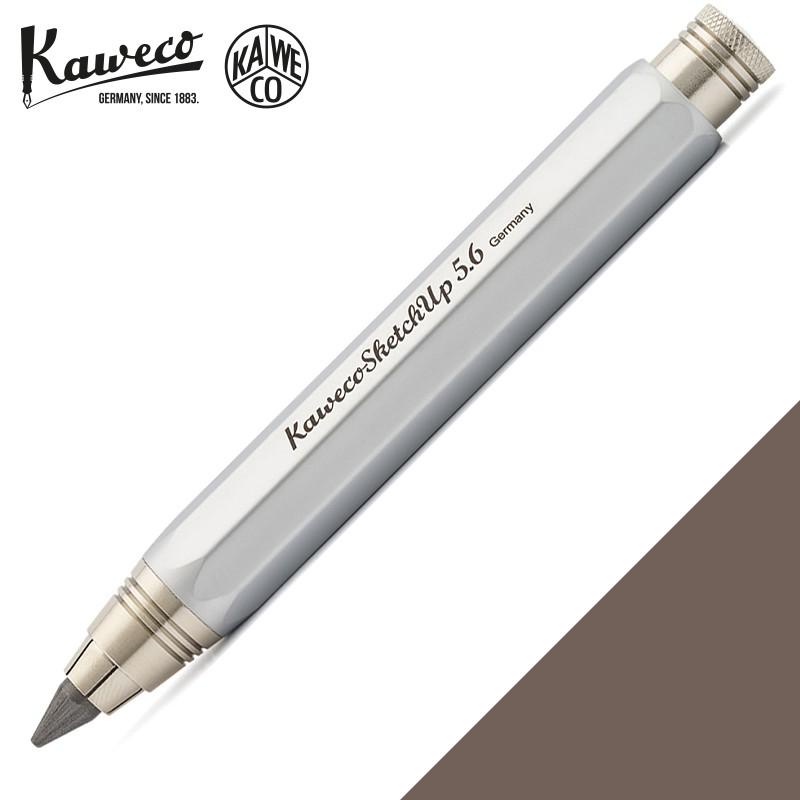 德國 KAWECO 素描鉛筆 銀鉻 SKETCH UP Pencil 5.6 mm(Satin Chrome 草圖速繪)