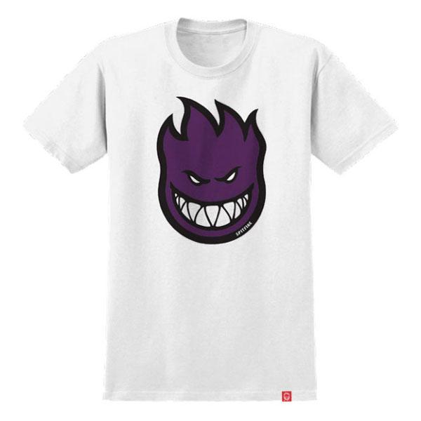 SPITFIRE 大童 51210109-WHT Bighead Fill TEE 短T (白紫)