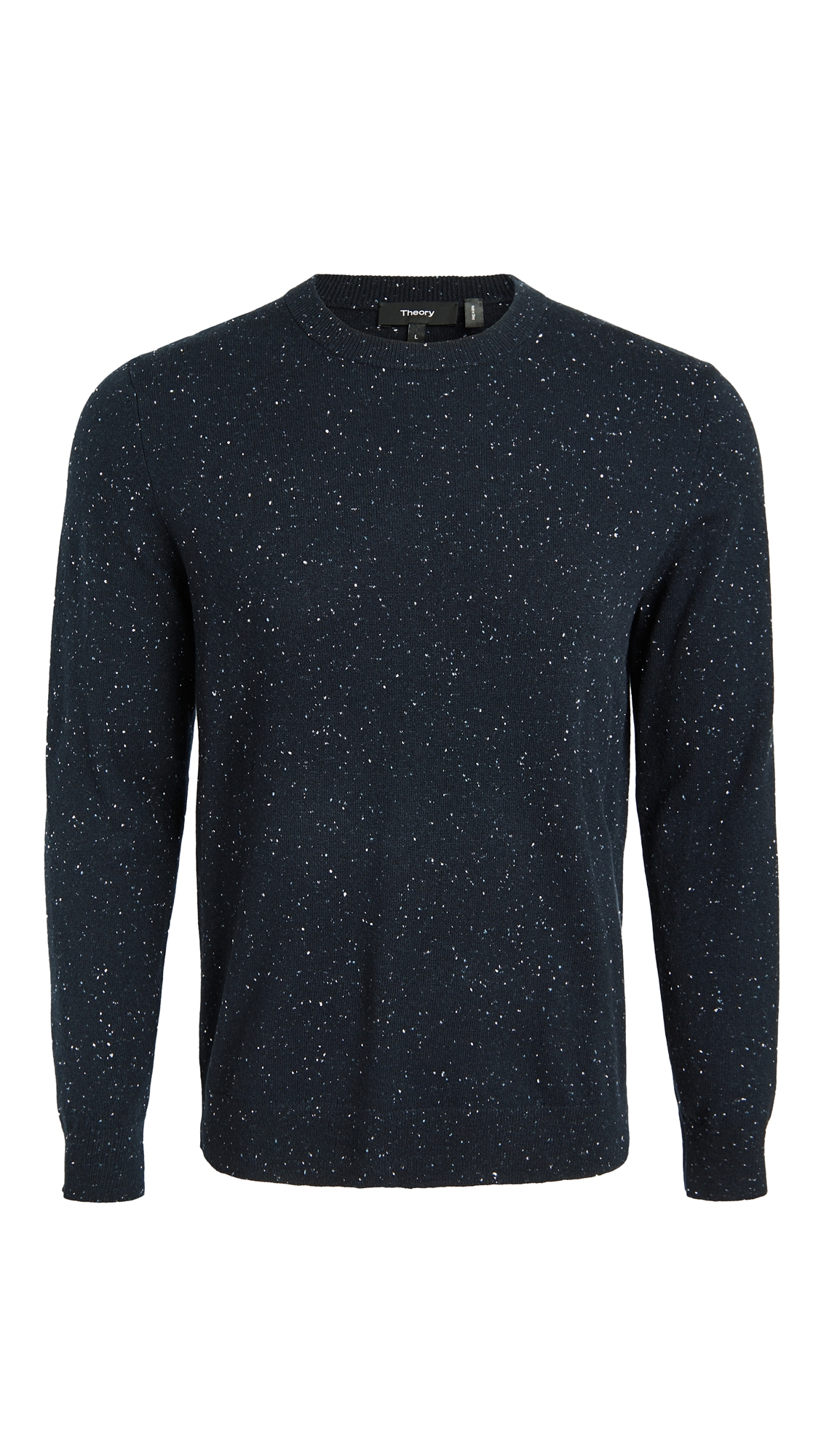 Theory Donegal Cashmere Crew Neck Sweater