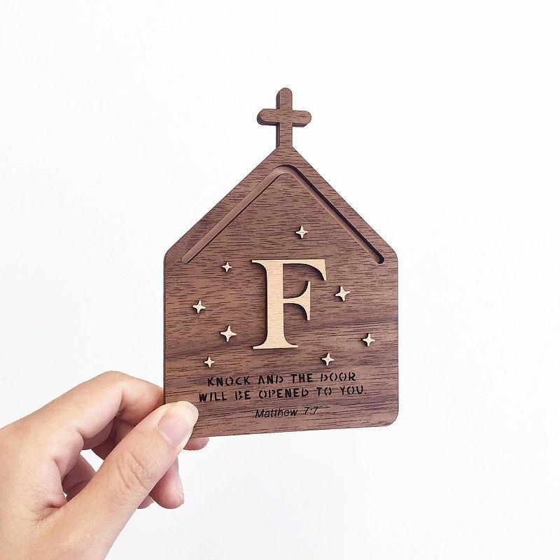 客製化木製教堂門牌