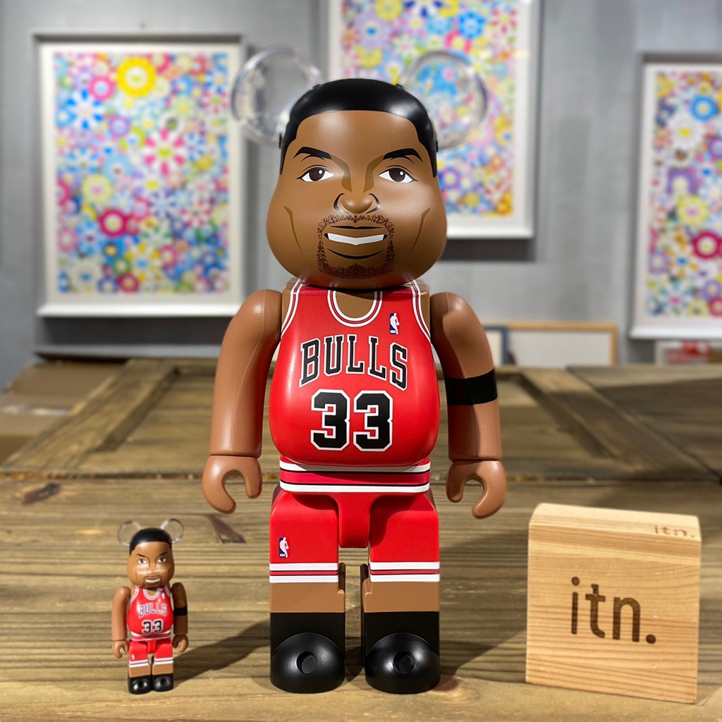 BE@RBRICK NBA 史考提 皮朋 Scottie Pippen 芝加哥 公牛隊 Chicago Bulls 400% + 100%