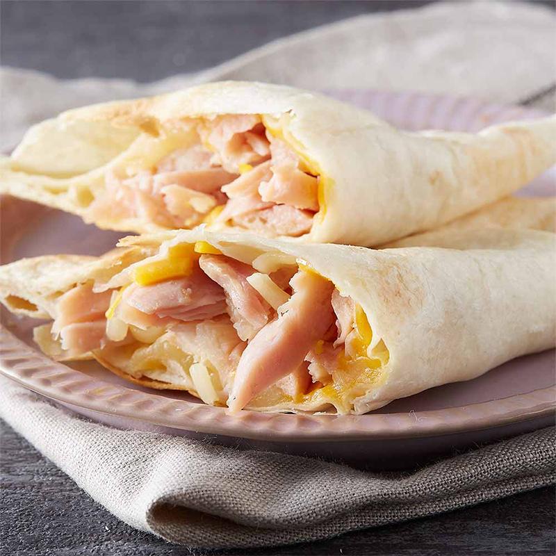 [17新鮮美味坊] 低卡燻雞起司烤餅 (100g/片) 6片