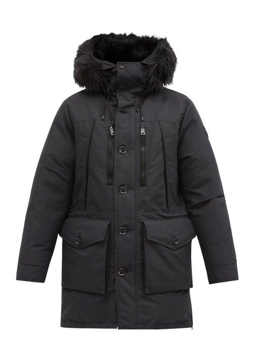 Polo Ralph Lauren - Rlx Faux-fur Hood Down Parka - Mens - Black