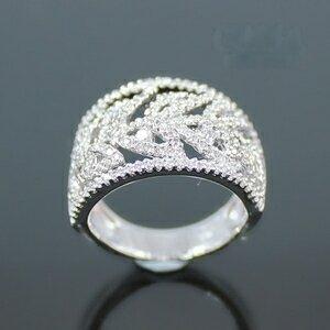 Celosa名品-葉語晶鑽戒指
