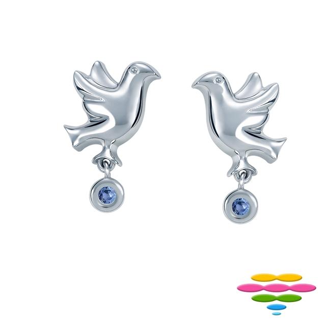 彩糖鑽工坊『 青鳥 Blue bird 』系列耳環  CL-EA27