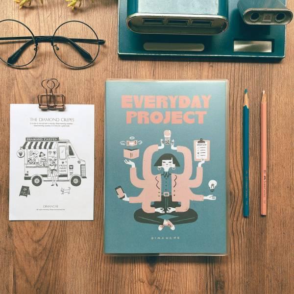 Dimanche Everyday Project每日專案誌v.3/ 藍綠 eslite誠品