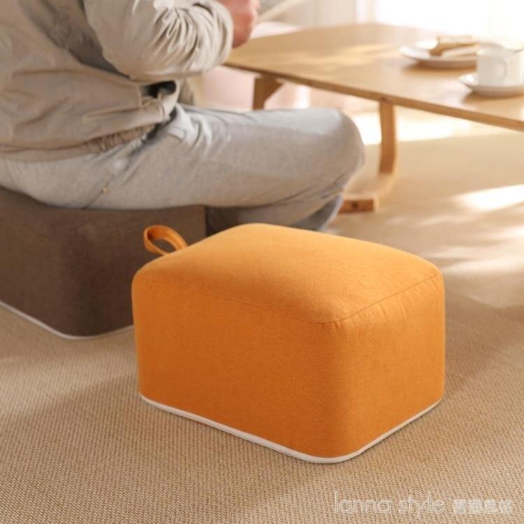 可坐地墊坐墊臥室地上蒲團家用榻榻米飄窗墊子客廳地板坐墩可拆洗