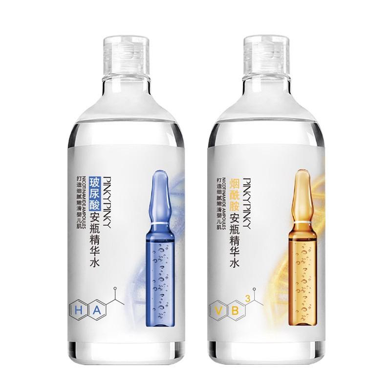 化妝水 爆款 繽肌精華水保濕煙酰胺護膚補水oem安瓶化妝水 玻尿酸原液爽膚水