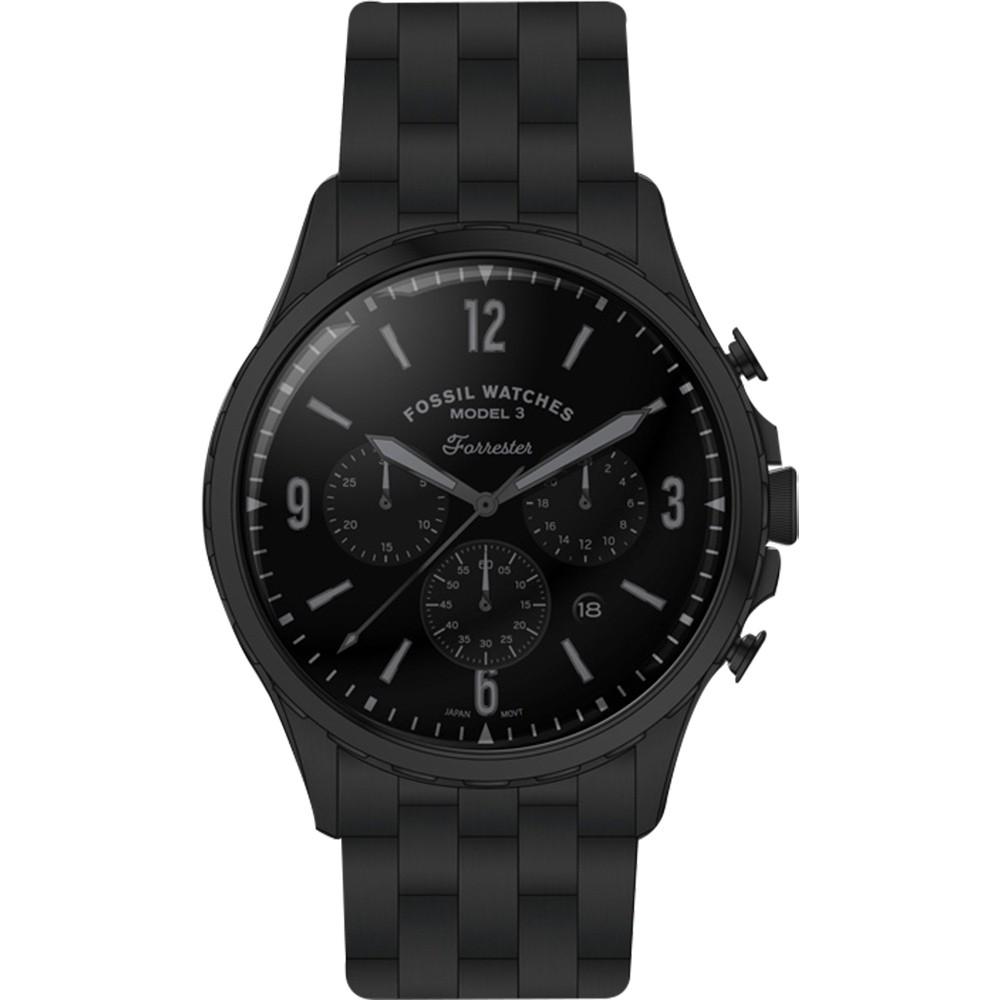 FOSSIL Forrester 計時時尚手錶-46mm(FS5697)