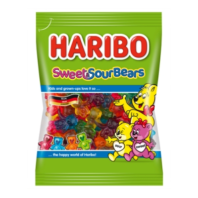 HARIBO哈瑞寶 熊熊情侶Q軟糖(175g)