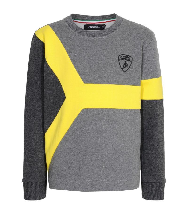 Automobili Lamborghini Kids Logo Sweatshirt (4-14 Years)