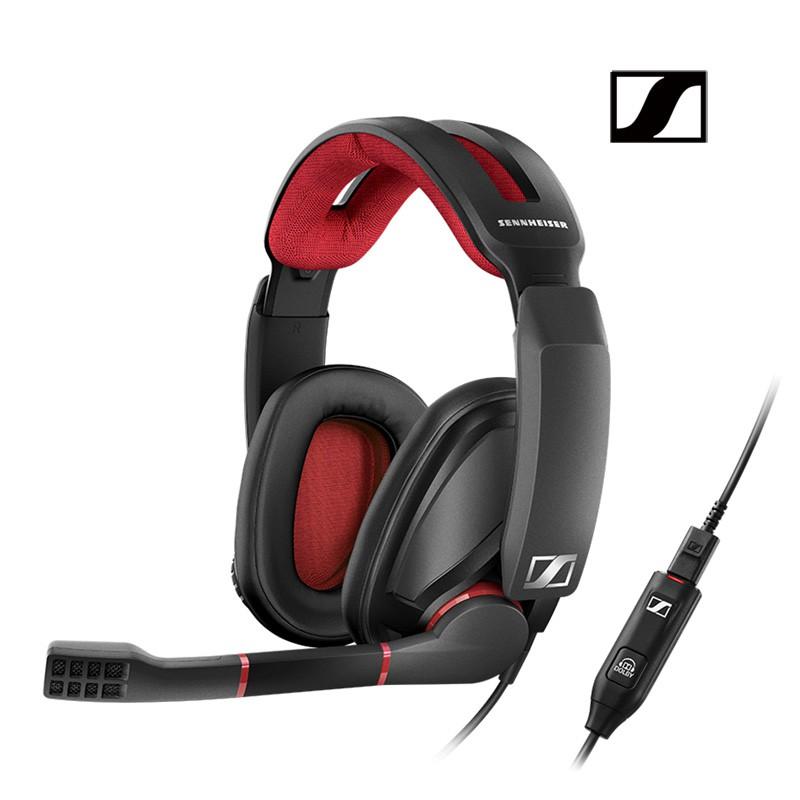 森海塞爾 GSP350 電競耳機 耳罩式耳機 降噪麥克風 頭戴式耳機 電競耳罩式 7.1環繞音效 公司貨廠商直送