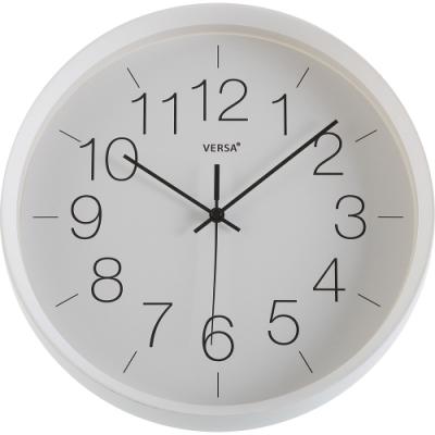 《VERSA》經典掛鐘(白29cm)