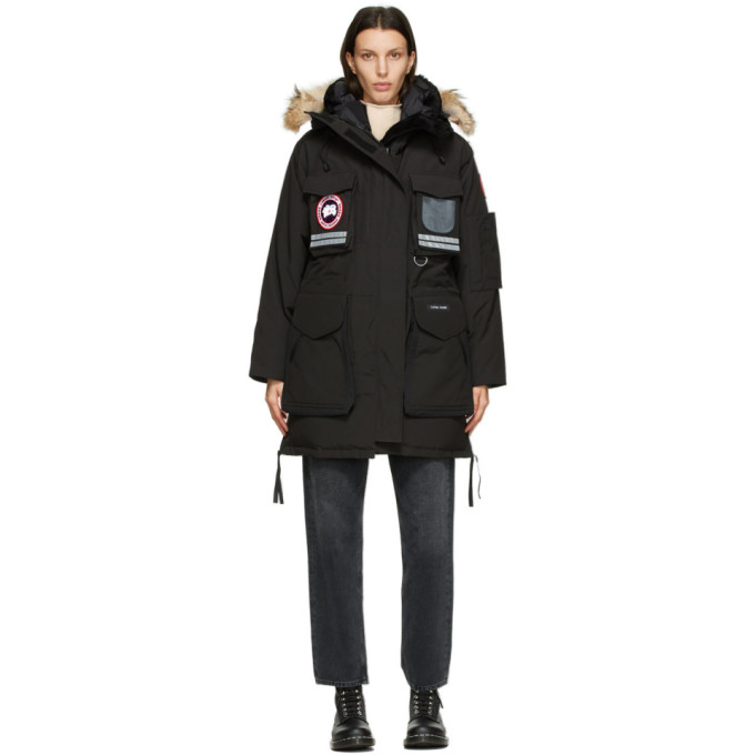 Canada Goose 黑色 Snow Mantra 羽绒派克大衣