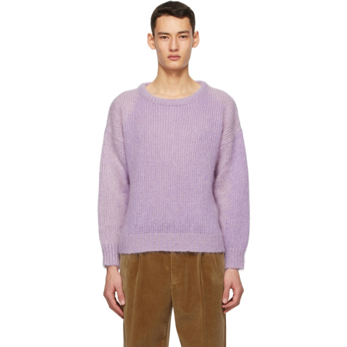 Gucci 紫色针织毛衣