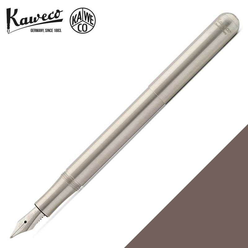 德國 KAWECO LILIPUT Stainless Steel 不鏽鋼 迷你鋼筆(手帳型)