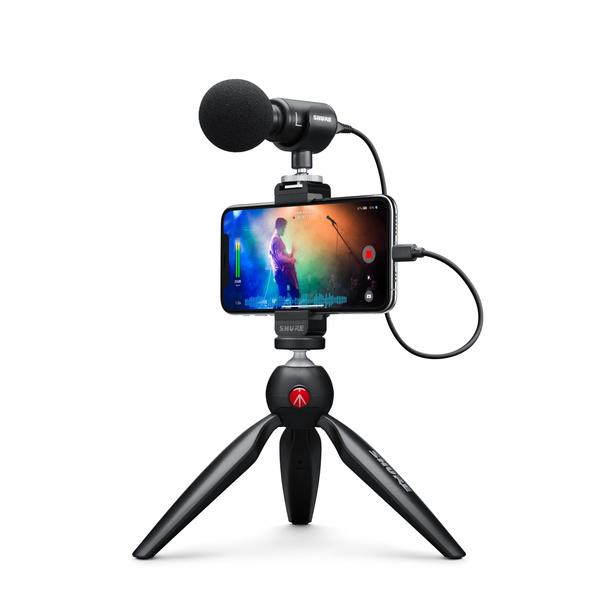 Shure MV88+ Video Kit 隨附數位立體聲電容式麥克風 -