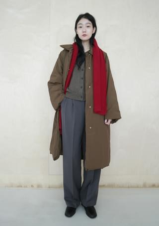 韓國空運 - deep maxi padding coat 大衣外套