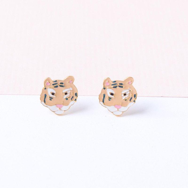 華南虎-瀕臨絕跡 耳環/項鏈