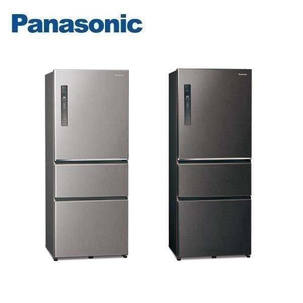 Panasonic國際牌ECONAVI 500L三門一級能變頻電冰箱全平面無邊框鋼板 NR-C501XV含基本安裝
