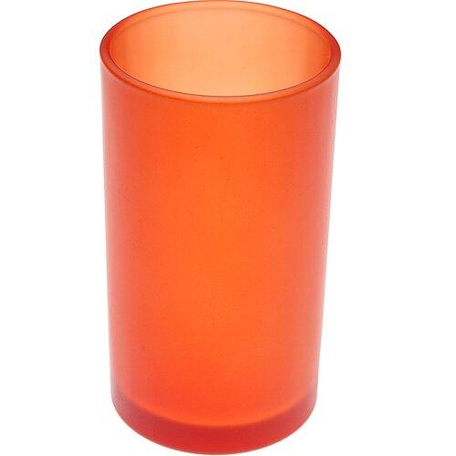 《VERSA》玻璃漱口杯(橘230ml)