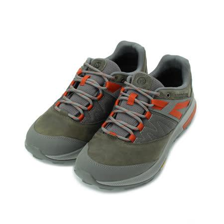 MERRELL Zion GTX 登山越野鞋 灰/紅 ML033893 男鞋