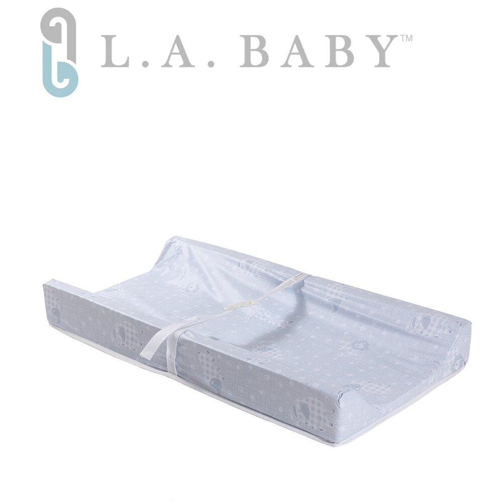 L.A. BABY 寶寶更衣墊尿布墊(兩邊圍) - 藍色