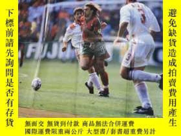 二手書博民逛書店罕見原版1996歐洲杯葡萄牙平托銅版海報Y178961 日本 日本 出版1996