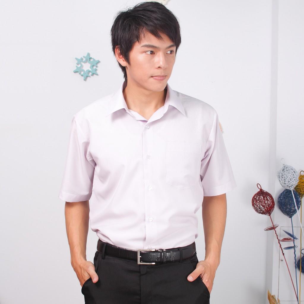 JIA HUEI 短袖柔挺領吸濕排汗防皺襯衫 3158細條紋份[台灣製造]