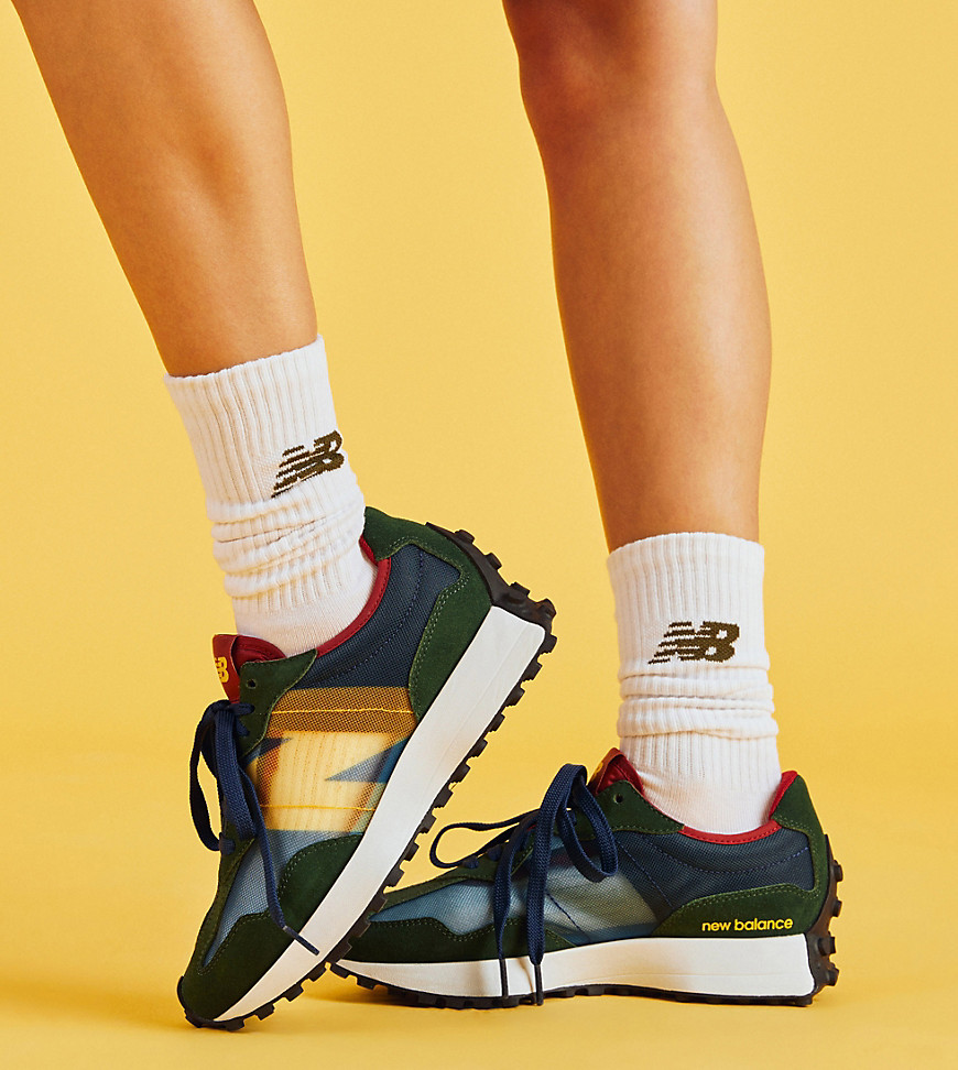 New Balance 327 in navy - exclusive to ASOS