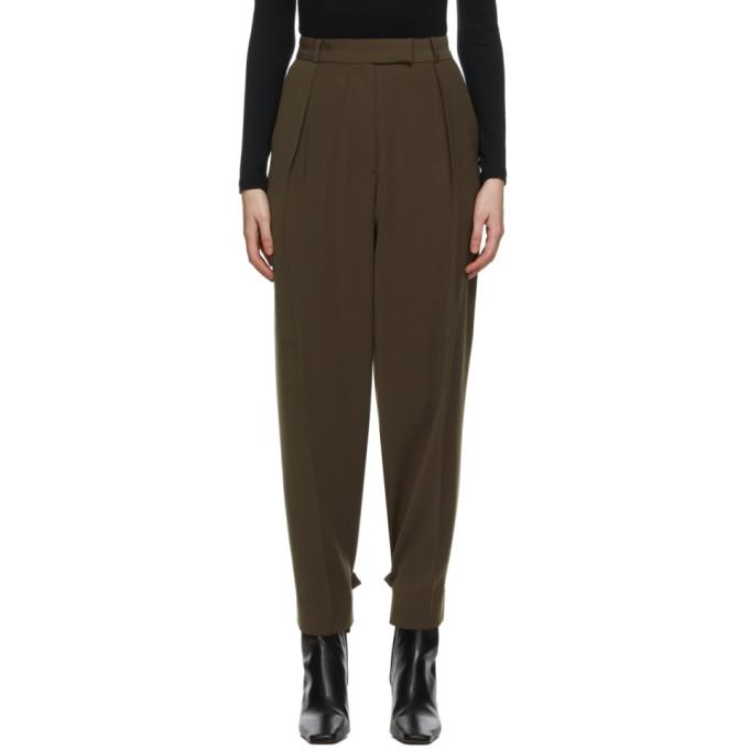 Blossom 棕色 El Tuck 长裤